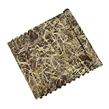 Auscamotek Camo Netting for Waterfowl Hunting Blinds Duck Boat Cover Brown 5ft×20ft(APPR./1.5m×6m
