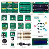 SunFounder PiPlus Electronics Building Block Sensor Starter Kit for Raspberry Pi 3 2 and RPi 1 Model B Plus for Young Beginners