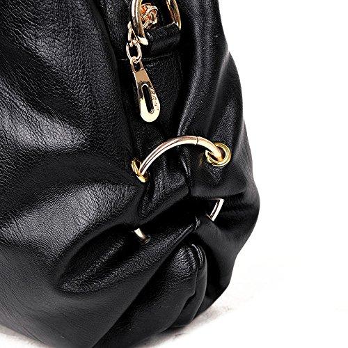 Lady Bag Handbags 2018 Multilayer Four Handbag Soft Fashion Bag Leather Europe New Big Zm Shoulder Gray Seasons And Bag America z8Wqd5Uwx