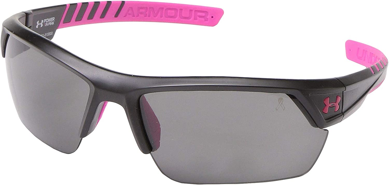New Under Armour Igniter Satin Black Gray Sunglasses