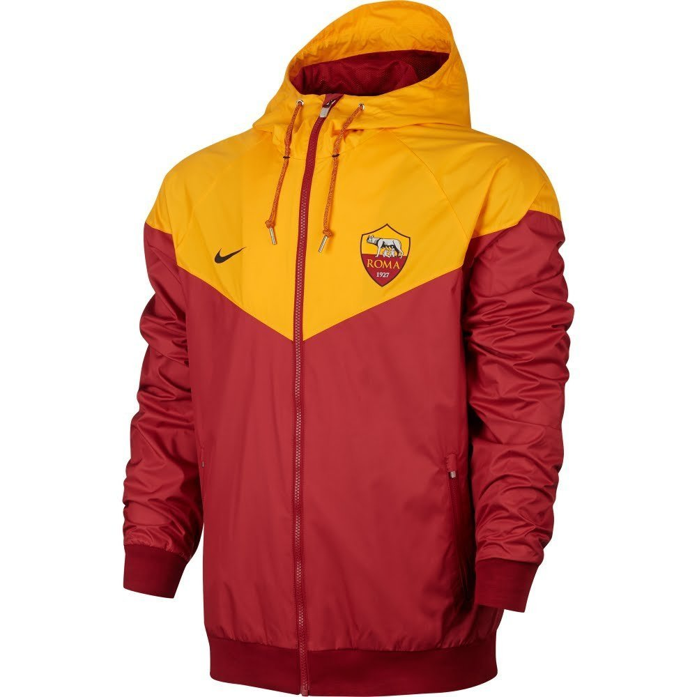 Nike 2017-2018 AS Roma Authentic Windrunner Jacket (Team ROT)