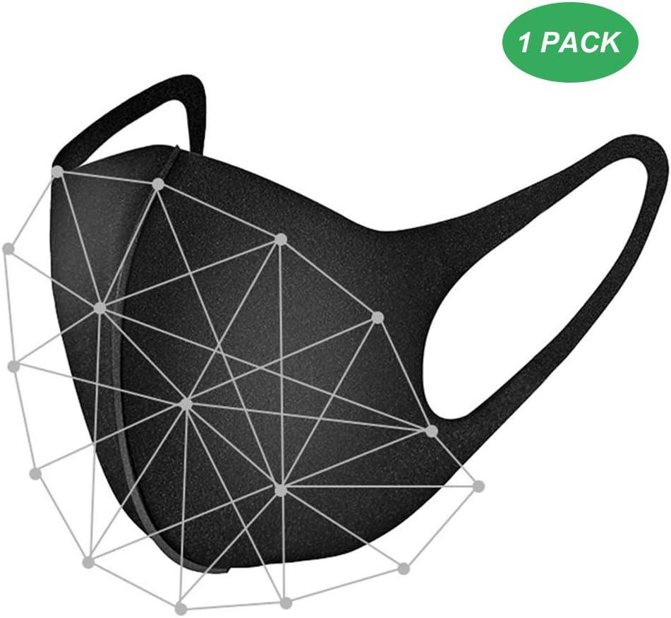 Máscara protectora contra virus, máscara N95 Máscara protectora Máscara de protección respiratoria, máscara de polvo fina lavable reutilizable Para exteriores