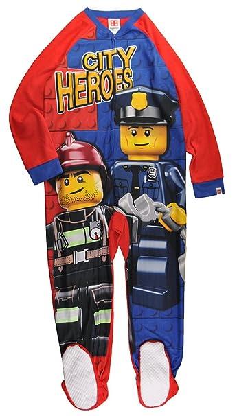 d05ee31532bf Amazon.com  LEGO Boys Blanket Sleeper Good Cop  Clothing