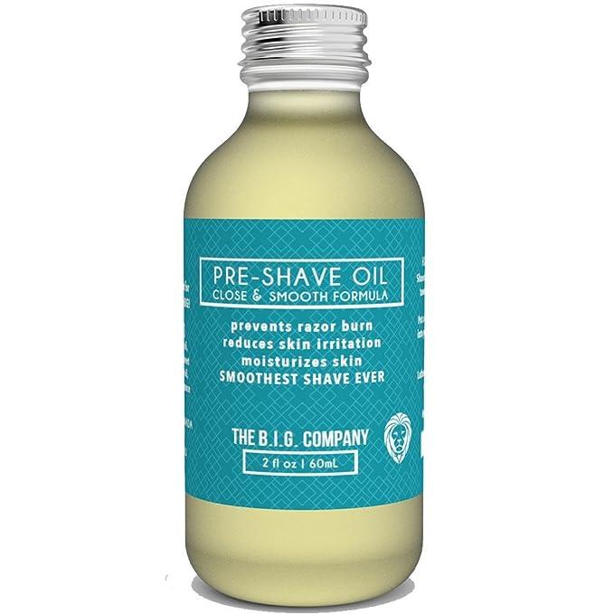 33 opinioni per The B.I.G. Company's Pre Shave Oil – Olio Da Barba Per Uomo- 60 ML