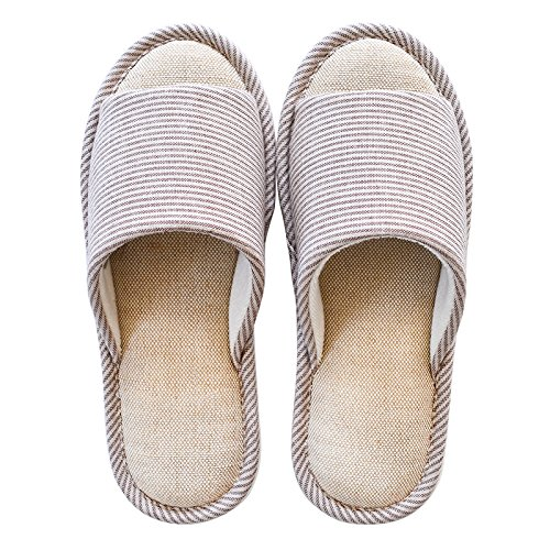 waterproof cotton The light 44 43 brown autumn slippers skid anti and home spring wpOpIX