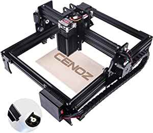 DIY Wood Engraving Machine for Beginners 3000mw CNC Engraver Pro Engraver Router Printer Machine for Handicraft Wood Desktop Working Area 200mm x290mm cenoz