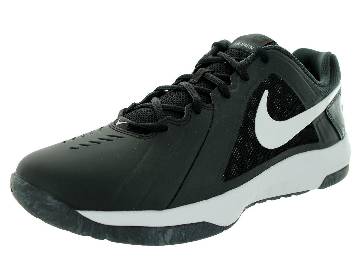 Galleon - NIKE Men s Air Mavin Low Black White-Anthracite Ankle-High  Basketball Shoe - 10M 065688725917