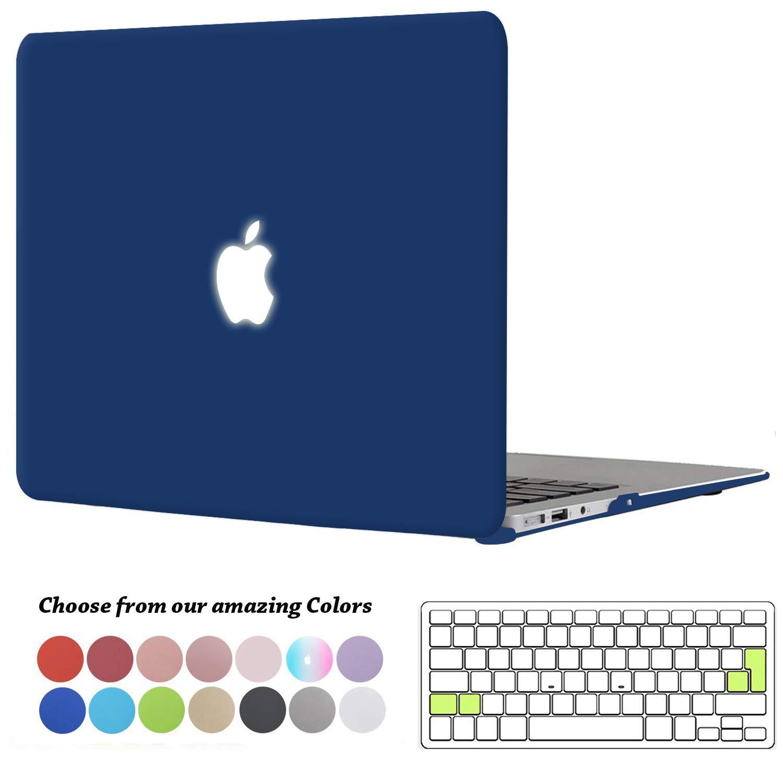 Funda MacBook Pro 13 pulgadas con Retina Display,TECOOL Ultra Slim Cubierta Pl/ástico Duro Case Carcasa con Tapa del Teclado para MacBook Pro 13.3 Pulgada Modelo: A1425 and A1502 Cristal Transparente