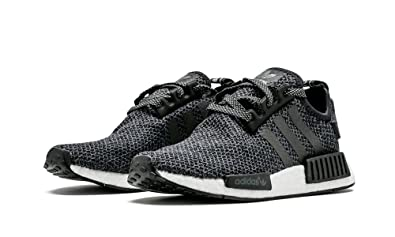 c5e9189d3 Image Unavailable. Image not available for. Color: adidas New NMD R1 Champ  Exclusive Black Reflective 3M Wool ...