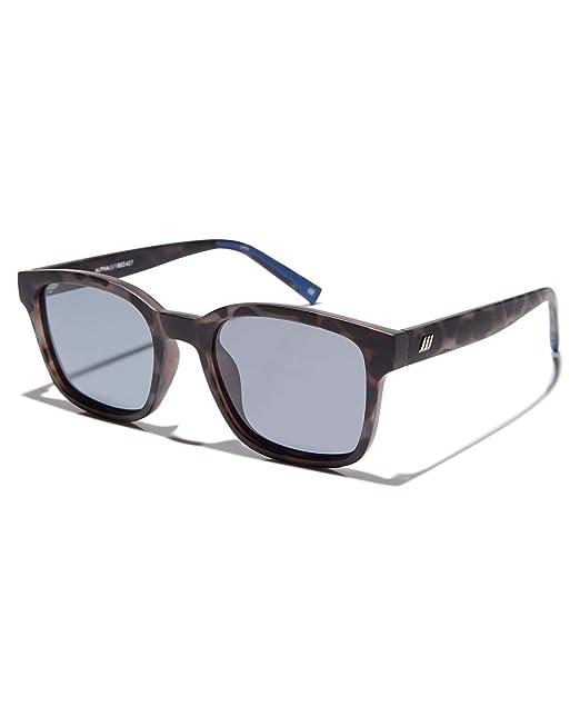 Le Specs Hombres gafas de sol de alfa Carbón De Leña única ...