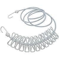 Nikgic - Cuerda Elástica con Ganchos para Tender