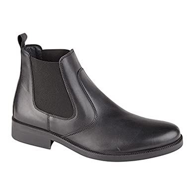 Amazon.com | Imac Mens Twin Gusset Boots (8.5 US) (Black ...