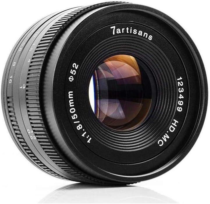 7artisans Photoelectric 50mm f/1.8 Lens for Canon EF-M Mount
