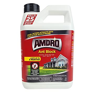 Amdro Ant Block Home Perimeter Ant Bait And Ant Killer 24 Oz Amazon In Home Kitchen