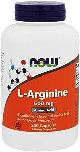 LArginine Amino Acid 500 MG (250 Tablets)