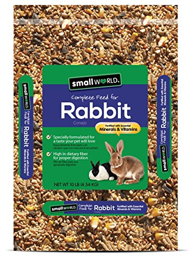 Manna Pro Small World Complete Feed for Rabbit, 10 lb