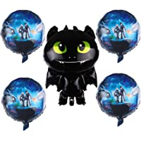5pcs How to Train Your Dragon 3 Balloons Party Supplies Decorations