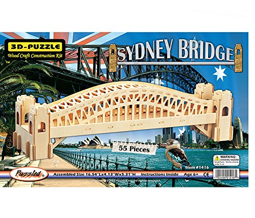 bridge building kit wood - 4