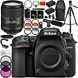 Nikon D7500 DSLR Camera with AF-S DX NIKKOR 18-300mm f/3.5-6.3G ED VR Lens 16PC Accessory Bundle – Includes 2x 32GB SD Memory Cards + 2x Replacement Batteries + MORE - International Version (No Warranty)