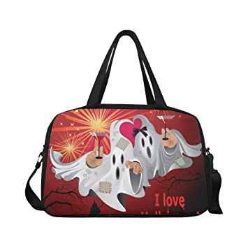 Amazon.com: Cool Halloween Creep Fun Ghost - Bolsas de yoga ...