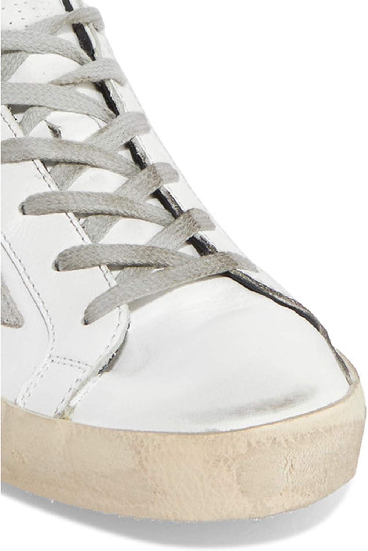 Golden Goose Casual Cuir Baskets Super Star Mens Sport Chaussures Slide Noir