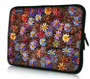 Luxburg Design Funda Blanda para Ordenador portátil (15,6 Pulgadas, Motivo: Alfombra de Flores: Amazon.es: Electrónica