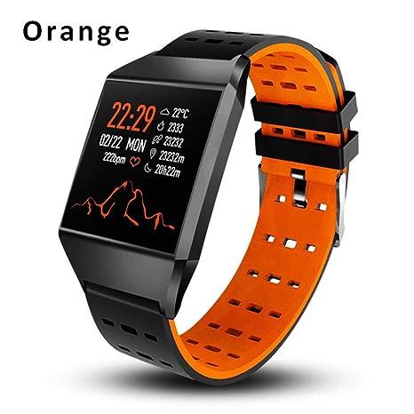 Eruditter Reloj Inteligente W1C Pulsera Inteligente Frecuencia cardíaca Presión Arterial Deportes Pulsera Salud Podómetro Reloj Deportivo