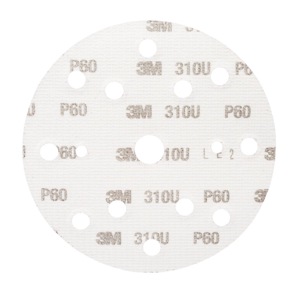 150 mm boite Disque abrasif support papier 3M Hookit 310U 100 disques