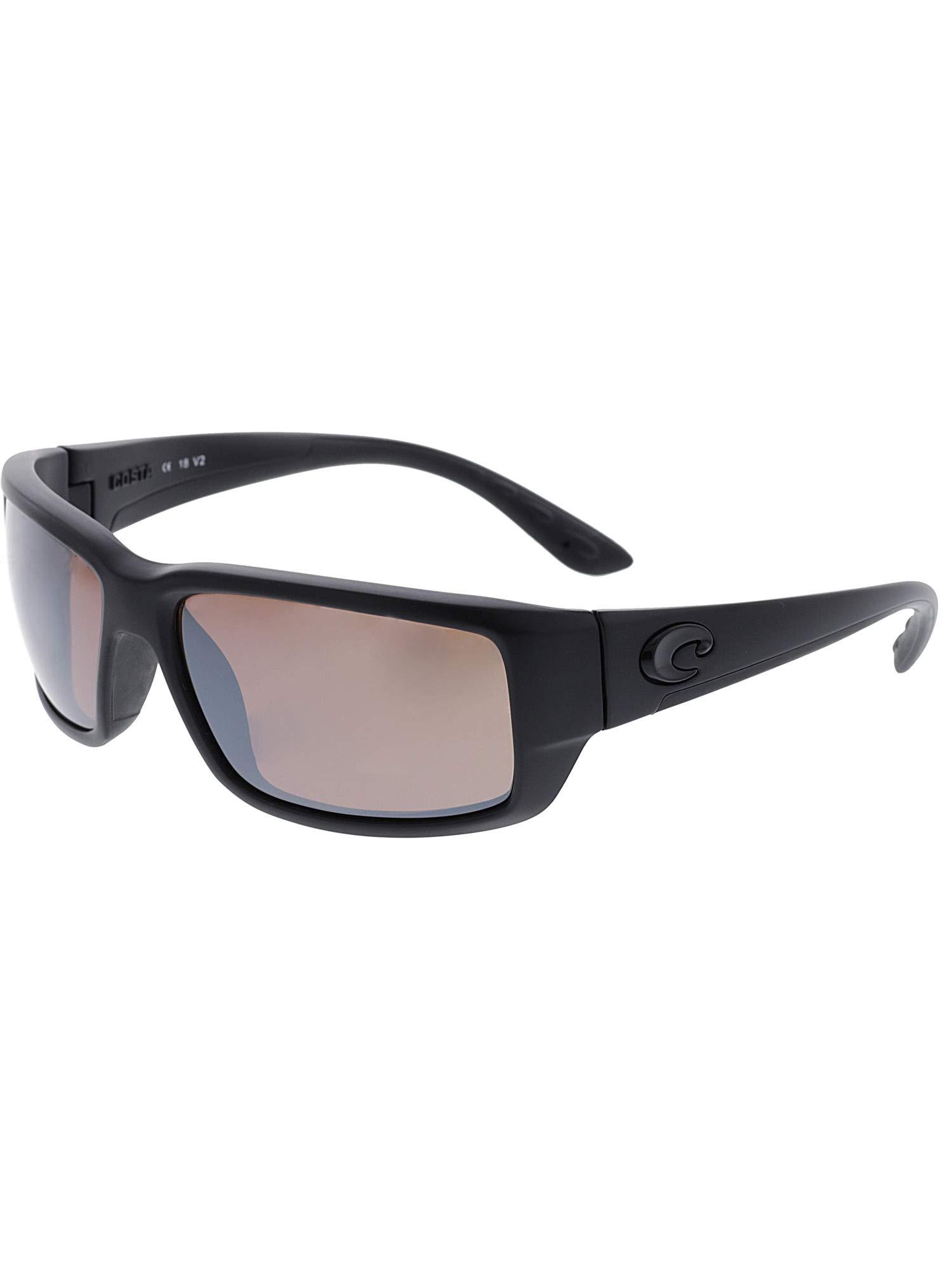 Costa Del Mar Fantail Sunglasses Blackout/Copper Silver Mirror 580Plastic