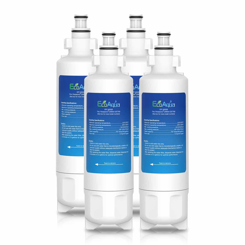 EcoAqua Panasonic CNRAH - 257760 Compatible Filtro de Agua del ...