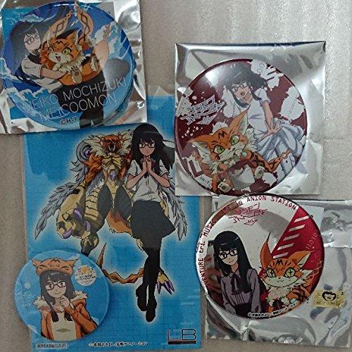 デジモン 芽心 缶バッジ4点セット LBポスター付きの商品画像