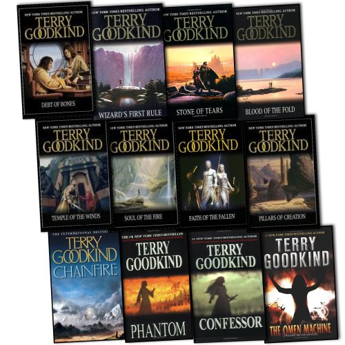 Terry Goodkind Sword of Truth 12 Books Collection Set RRP: 110.88