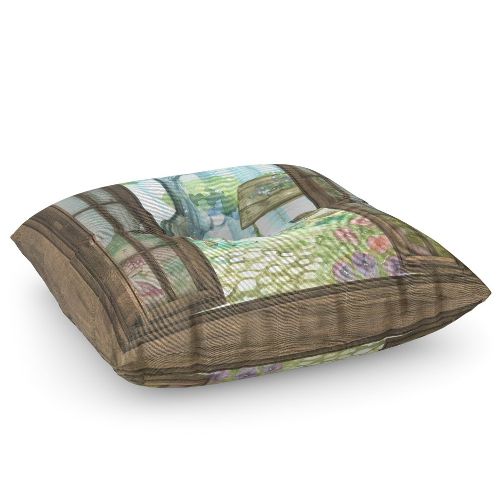 Society6 Favorite Window Floor Pillow Square 30'' x 30''