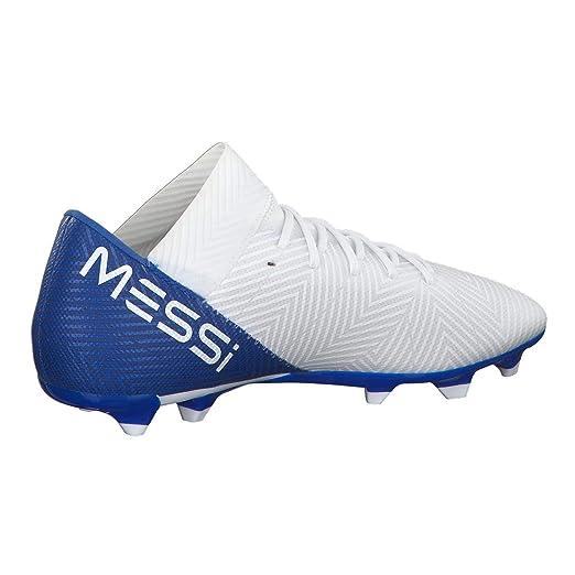 Chuteira Campo Adidas Nemeziz Messi 18.3 FG - Branco - 37  Amazon.com.br   Esportes e Aventura 579dfe29f5b8a
