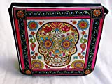 New Sugar Skull in Siam Messenger Bag By Gifts and Beads