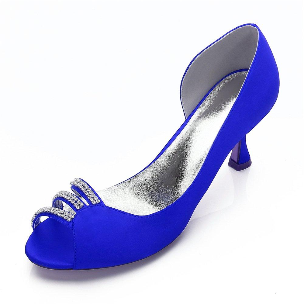 Qingchunhuangtang@ Hochzeit Schuhe große Größe Frauen Schuhe Brautschuhe's Party Schuhe Schuhe Schuhe Fisch Schnabel Seite Luft Heels eeaf0a