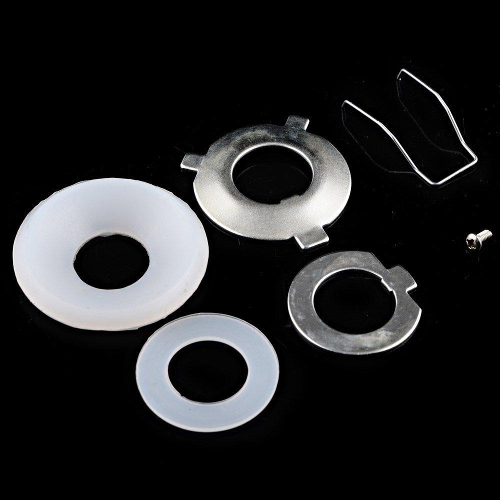 Astra Depot 2pcs Mini 2.5 LHD H1 Bi-xenon HID Projector Lens Black Shroud Hi//Lo Headlight Custom Headlamp H4 H7 H11 9005 9006 9007 H13 Mini Bi-xenon HID Projector Lens 4350368256