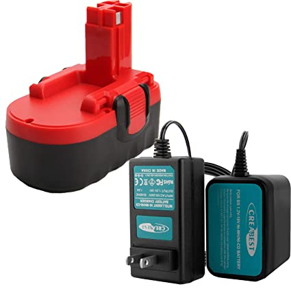 Amazon.com: Creabest - Batería de repuesto para Bosch BAT026 ...