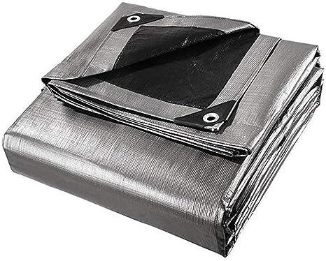 Impermeable Pérgola Resistente Protector Solar Patio PE Tela Impermeable a Prueba de Lluvia Punzón de Metal Ojal de Metal Fácil de Instalar, 14 Tamaños, Personalizable (Color: Plateado, Tamaño: 16.4x1: Amazon.es: Deportes y