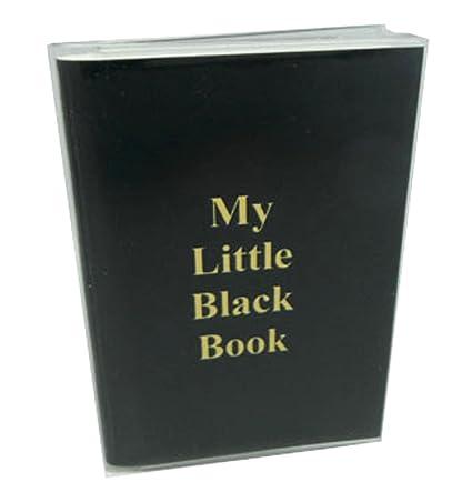 amazon com my little black book password address book small