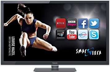 Panasonic TX-L47ET5B LED TV - Televisor (119,38 cm (47