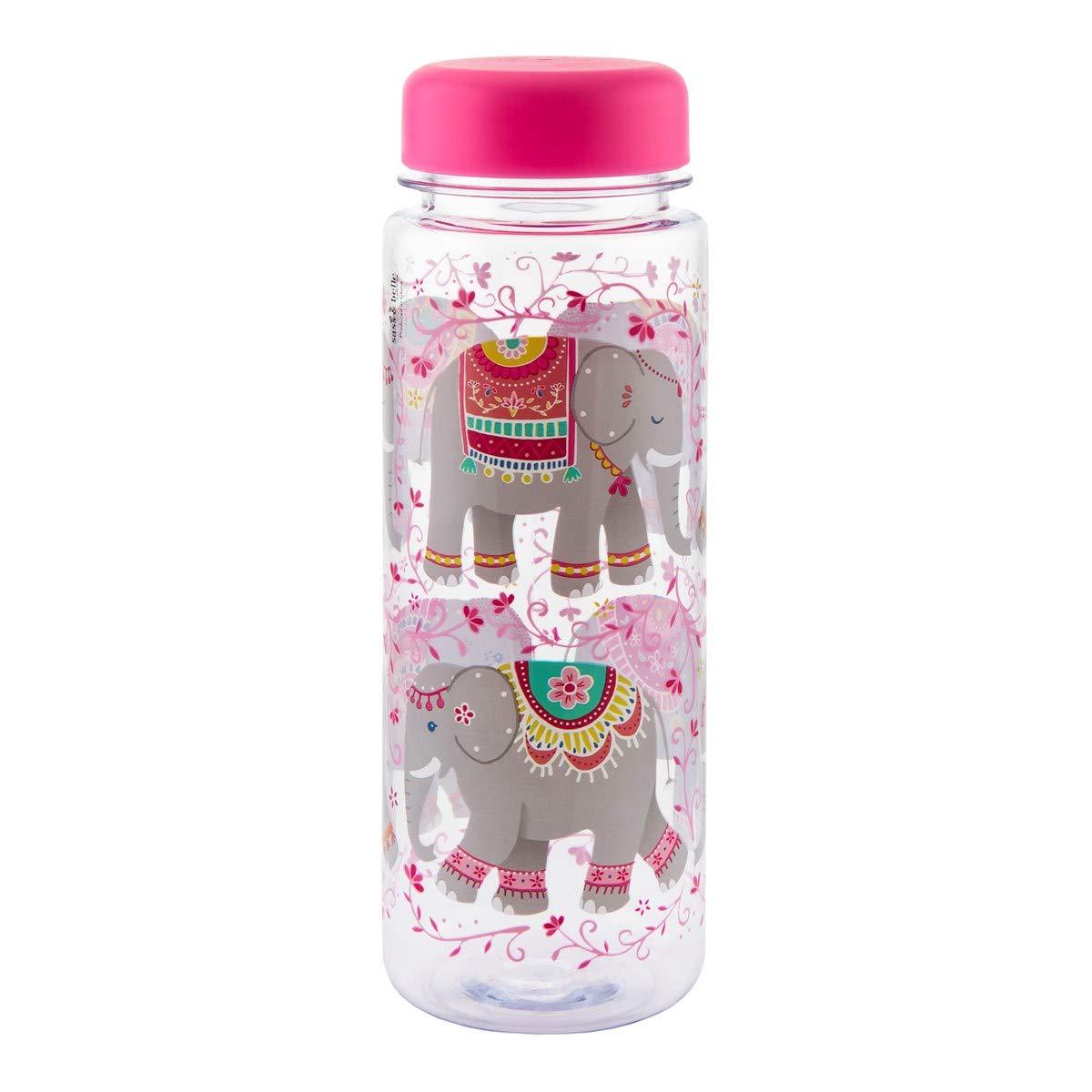 Sass and Belle Mandala Botella de agua con dise/ño de elefante