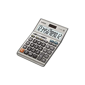 Amazon.com: Casio df-120bm Calculadora de 12 dígitos GT Dual ...