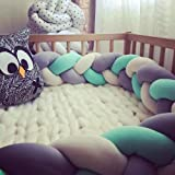 iOPQO Pillow for Baby, Colorful Soft Knot Pillow