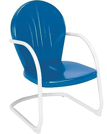 Perfect Jack Post BH 20BL Retro Chair, Blue