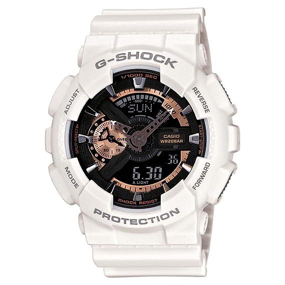 Casio Reloj Analógico-Digital para Hombre de Cuarzo con Correa en Resina GA-110RG-7AER: Amazon.es: Relojes