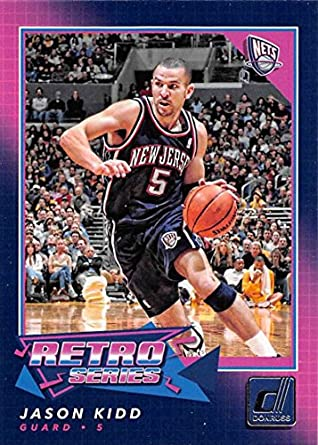 4d8d22d1402 Amazon.com  2017-18 Donruss Retro Series  22 Jason Kidd NM-MT NJ ...