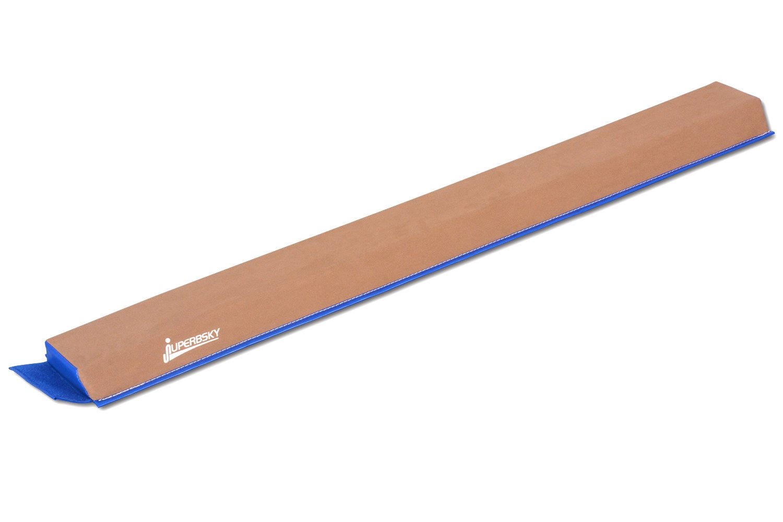 JuperbSky体操スエードセクションフォーム平均台軽量 子供のための練習(青色) B06XCRPJGZ