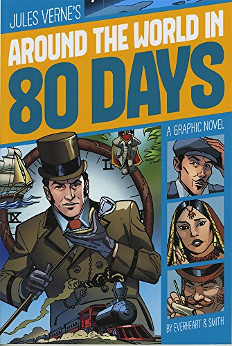 Around the World in 80 Days (Graphic Revolve Novels) por Jules Verne