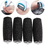 4 x PEDI EXTRA Hard Skin Remover Coarse Replacement Rollers Heads for Scholl Velvet Smooth Express Refill Diamond Compatible Replacement Rollers Heads
